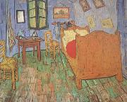 Vincent Van Gogh Vincet's Bedroom in Arles (nn04) oil painting picture wholesale